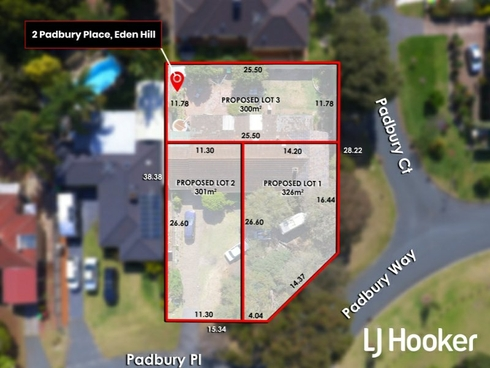 Lot 1-3/2 Padbury Place Eden Hill, WA 6054