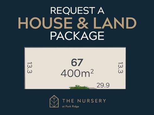 Lot 67/74 Bumstead Road Park Ridge, QLD 4125