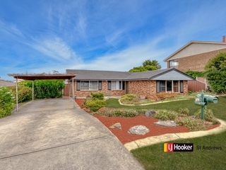 4 Indaal place St Andrews , NSW, 2566