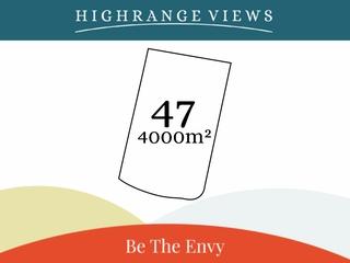 Lot 47/ Escarpment Avenue Cabarlah , QLD, 4352