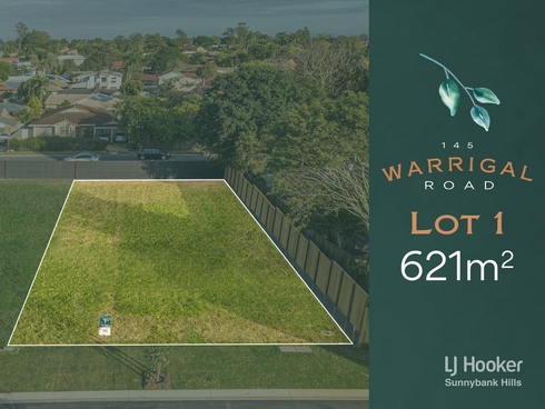 Lot 1/145 Warrigal Road Runcorn, QLD 4113