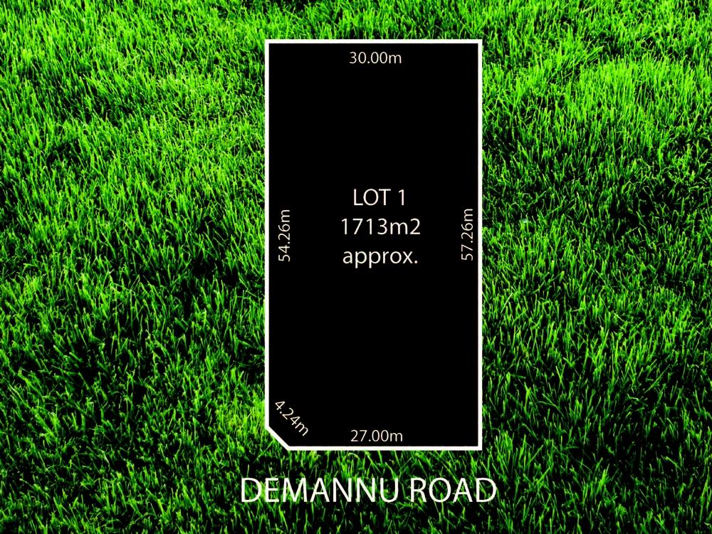 Lot 1 & 2/ Demannu Road Munno Para Downs, SA 5115