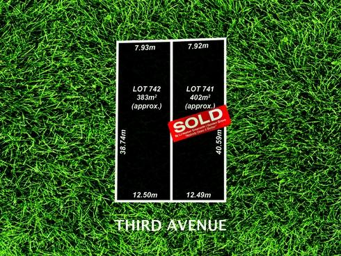 Lot 741 & 742/33 Third Avenue Klemzig, SA 5087