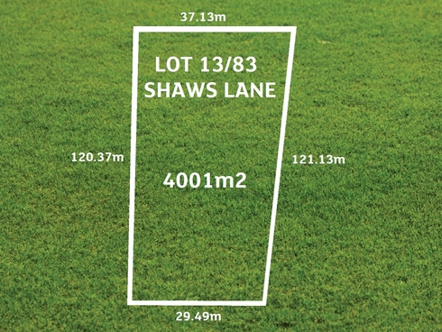Lot 13/83 Shaws Lane Rosedale, VIC 3847