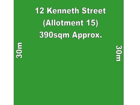 Lot (Allotment 15)/12 Kenneth Street Findon, SA 5023