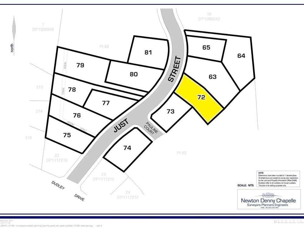 Lot 72 Just Street Goonellabah, NSW 2480