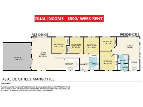 45 Alice Street Mango Hill, QLD 4509